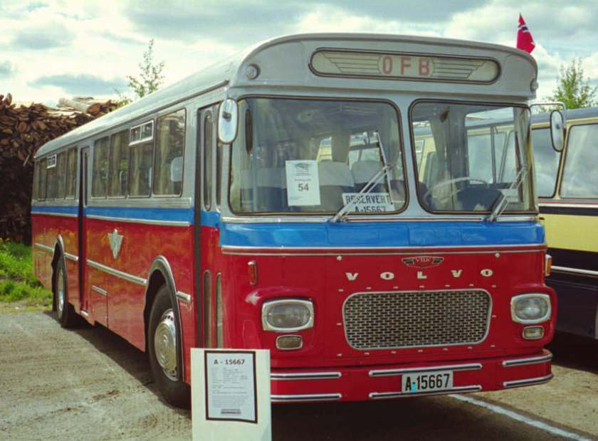 1968 A-15667 is a 1968 Volvo B57-65 with VBK dual purpose bodywork