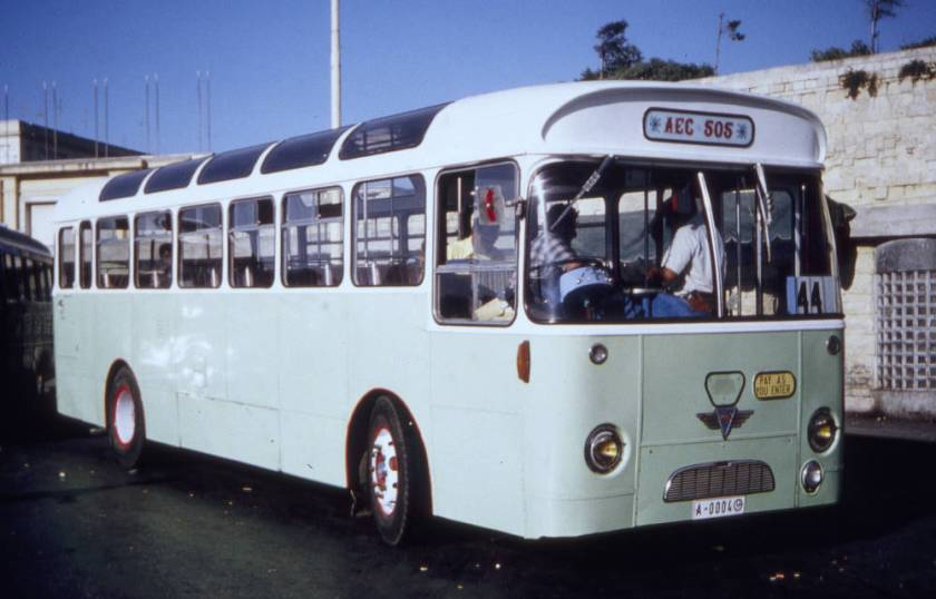 1968 A E C Reliance 6MU2RA with Willowbrook B46F bodywork