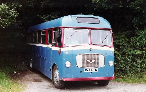 1968 Bedford SB5 with Willowbrook bodywork