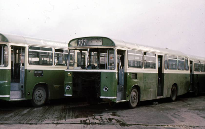 1968 Bedford VAM70 saloons arrived with Willowbrook B33D+25 bodies