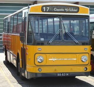 1968 Leyland-Verheul LVB668standaard streekbus 1107, Westnederland (ex-Citosa), Boskoop.