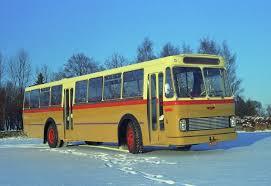 1968 Scania-Vabis BF75-61 1960 mod levert til Bærums Forende Bilruter på Bekkestua i Bærum med VBK's M58-karosseri
