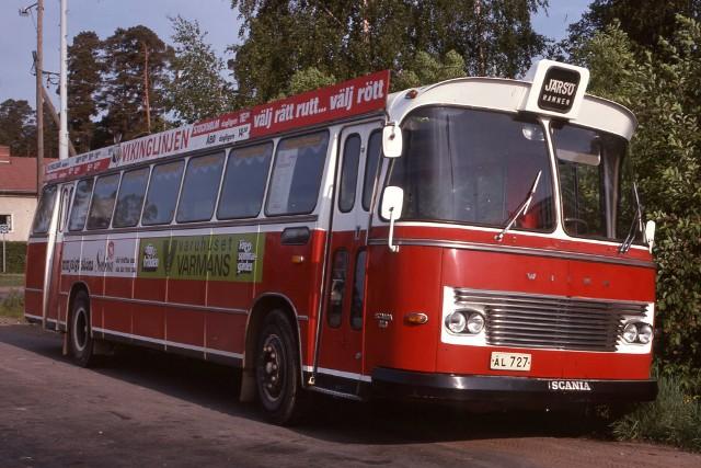 1968 Scania Wiima AL727