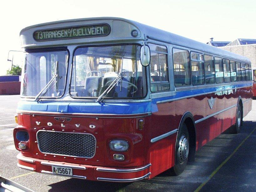 1968 Volvo B57 med Arna-karosser