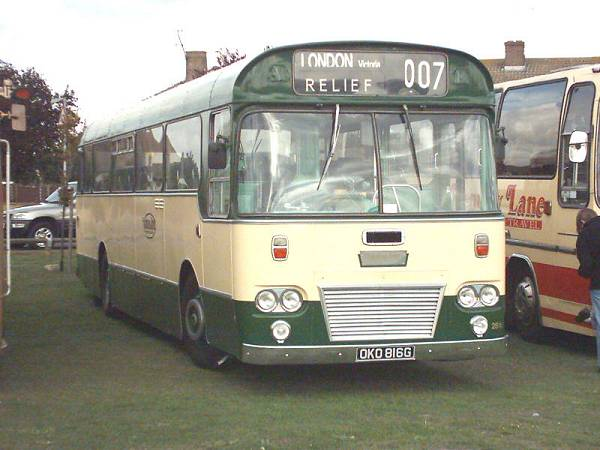 1968 Willowbrook DP49F bodied Leyland PSU3A-4RT Leopard OKO816G a