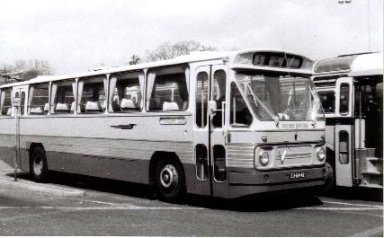 1969 Leyland LVB668 0.680 carr Verheul GTW461