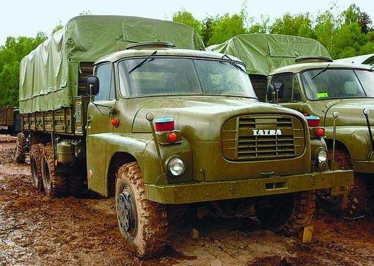 1969 Tatra-148VN, 6x6
