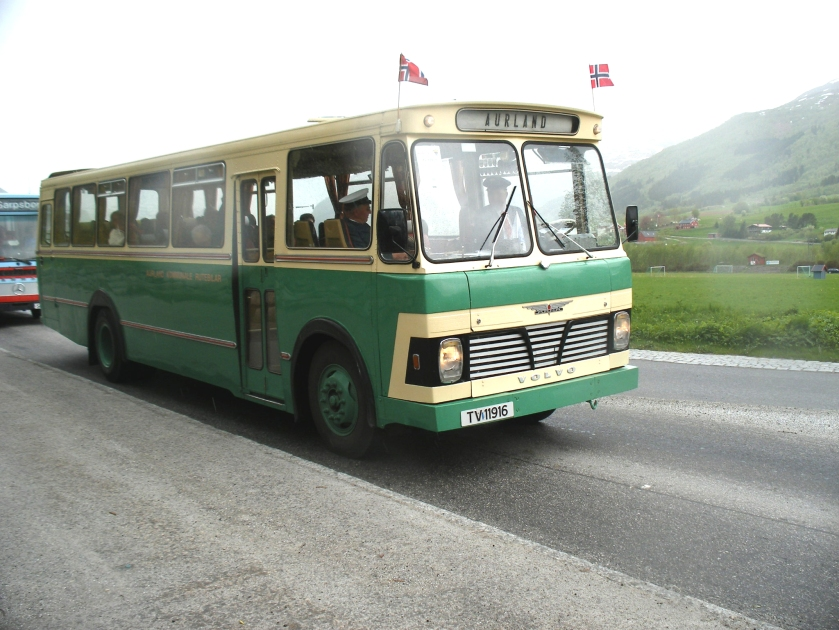 1969 Volvo Aurland Kommunale Rutebilar N