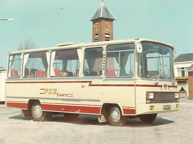 1970-73 VAN HOOL FIAT 625