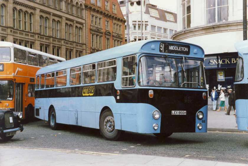1970 AEC Swift with Willowbrook B43D body 866H