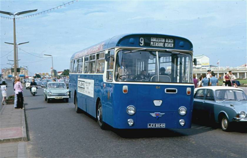 1970 AEC Swift with Willowbrook B43D body