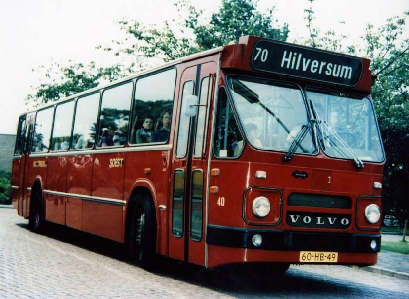 1970 Bus 40 Volvo carr. Hainje Tensen