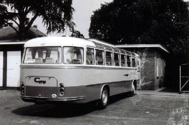 1970 DAF TB160 DAF DD530 carr Van Hool nr 157