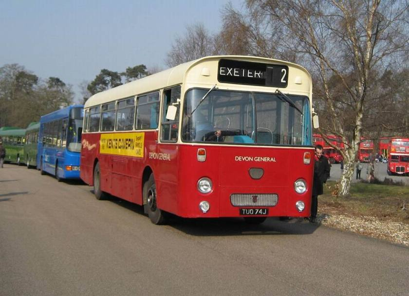 1971 AEC Reliance with Willowbrook B43F body