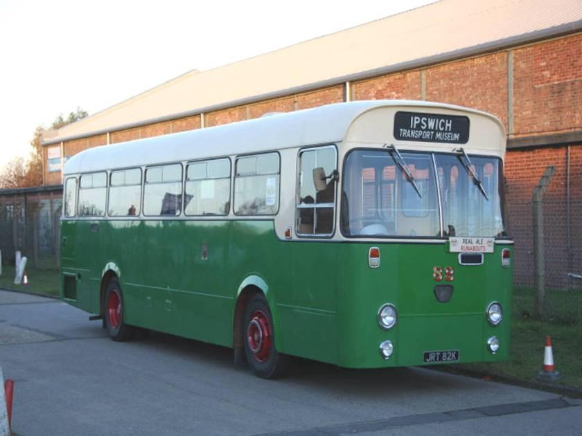 1971 AEC Swift with Willowbrook dual door body