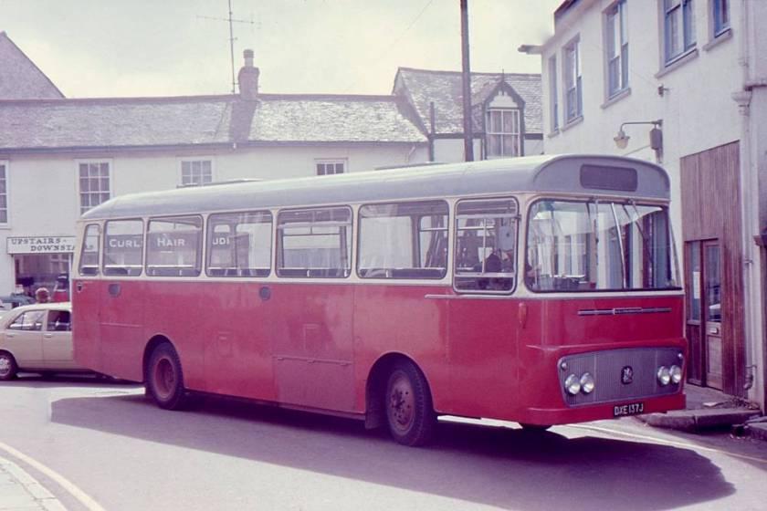 1971 Bedford YRQ with Willowbrook B45F bodywork