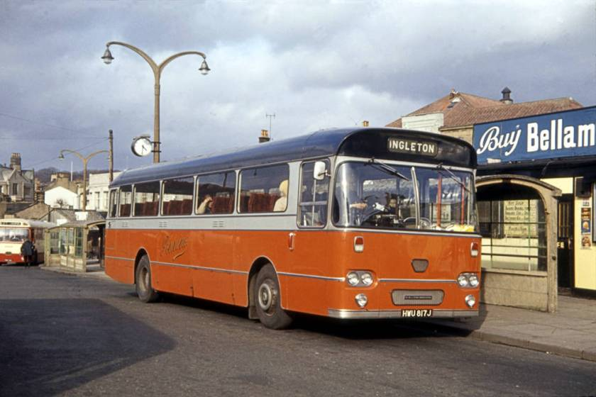 1971 Leyland Leopard PSU3 with Willowbrook DP49F body