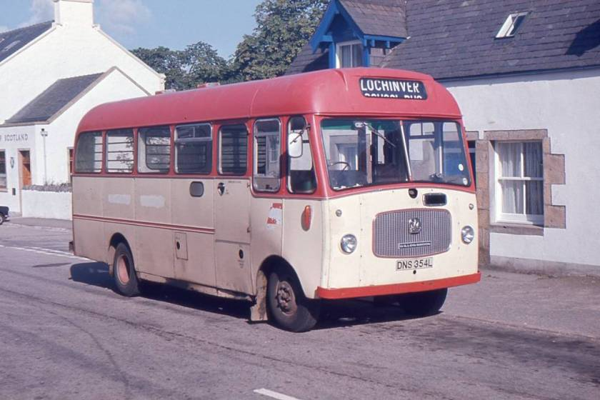 1972 Bedford VAS5 with Willowbrook B16FM bodywork