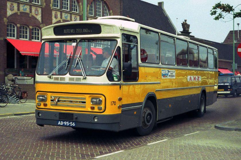 1972 Leyland Verheul Auto Maatschappij Zeeland 170