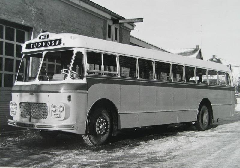 1972 Scania Vabis M58-karosseri fra VBK c4625