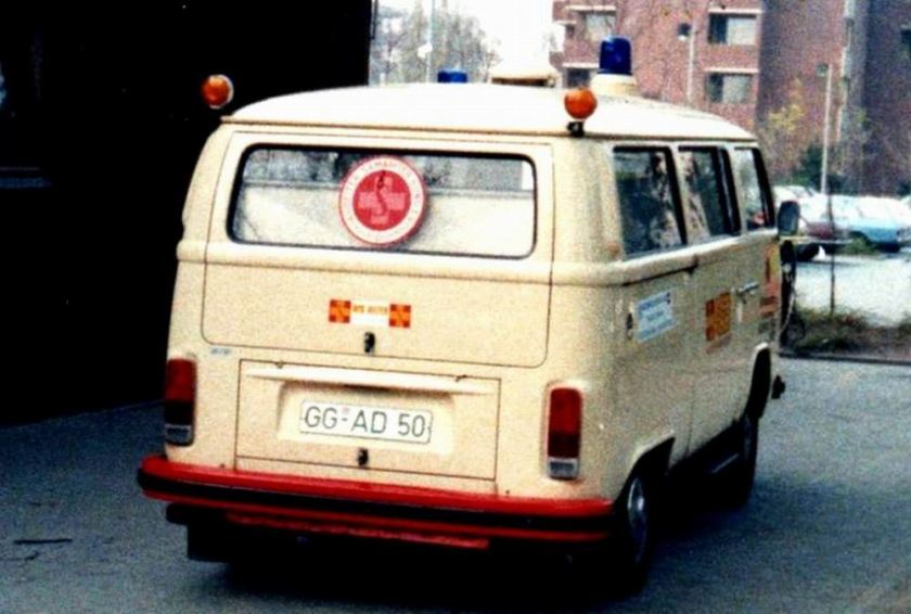 1972 Volkswagen German Volkswagen ambulance D