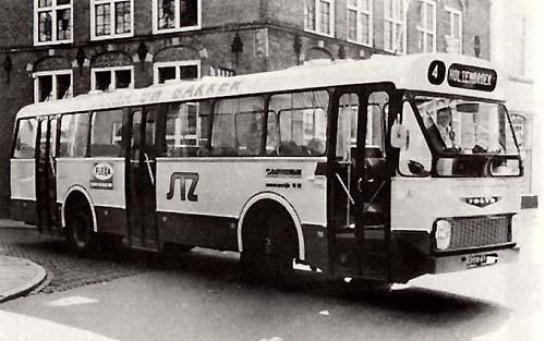 1972 Volvo B57-ZABO met 32 zitplaatsen Schutte 36