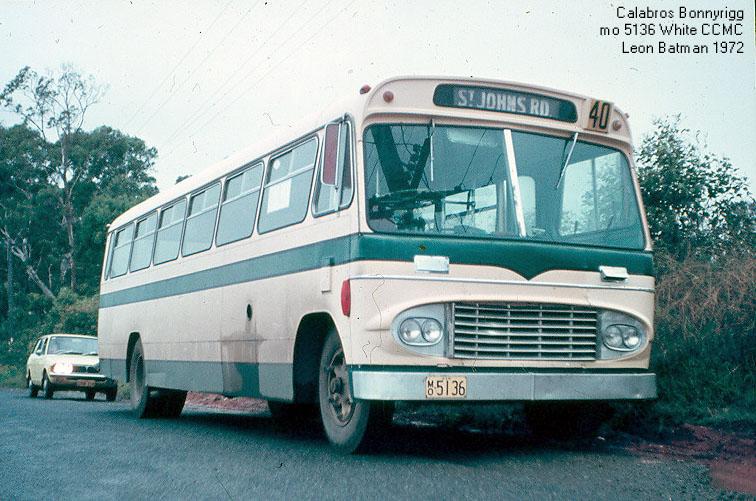 1972 White CCMC Calabromo 5136