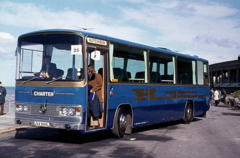 1973 Bedford YRT with a Willowbrook '002' Expressway C30FT body
