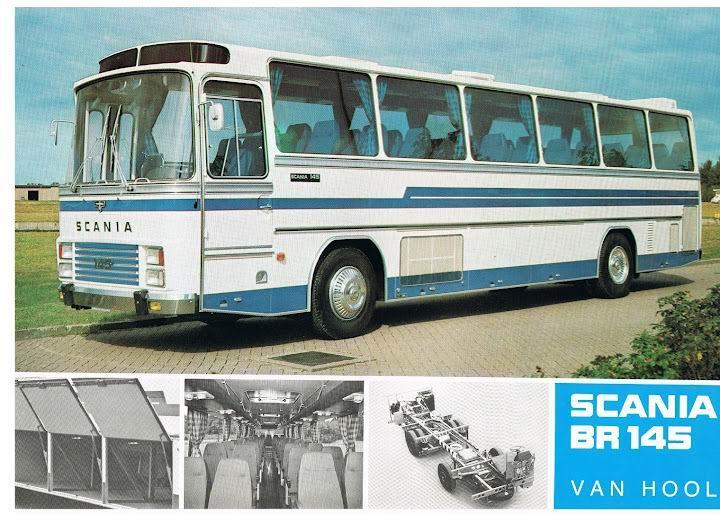 1973 SCANIA BR145+Van Hool