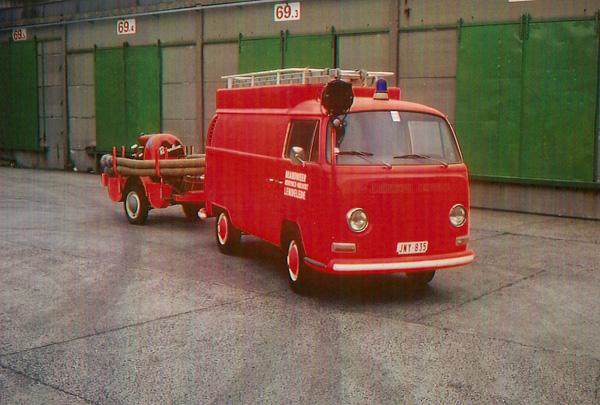 1973 VW Bus + aanhanger
