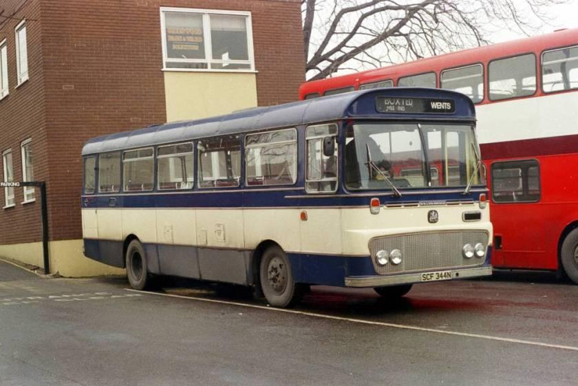 1974 Bedford YRQ-Willowbrook SCF344N
