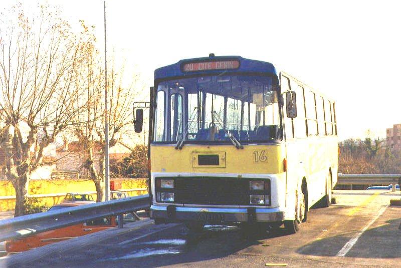 1974 VAN HOOL FIAT 314-3