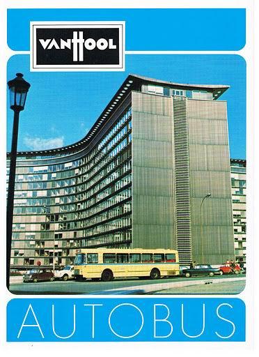1975 VAN HOOL AUTOBUS