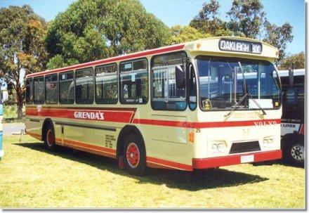 1976 Volvo B58-Volgren VG001 Bus Dandenong Victoria Australia