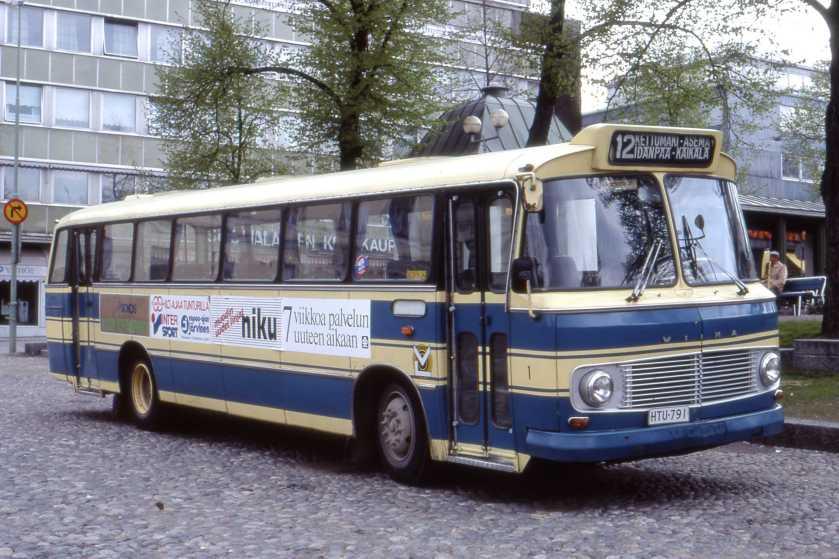1976 Wiima M68 на шасси Volvo B57