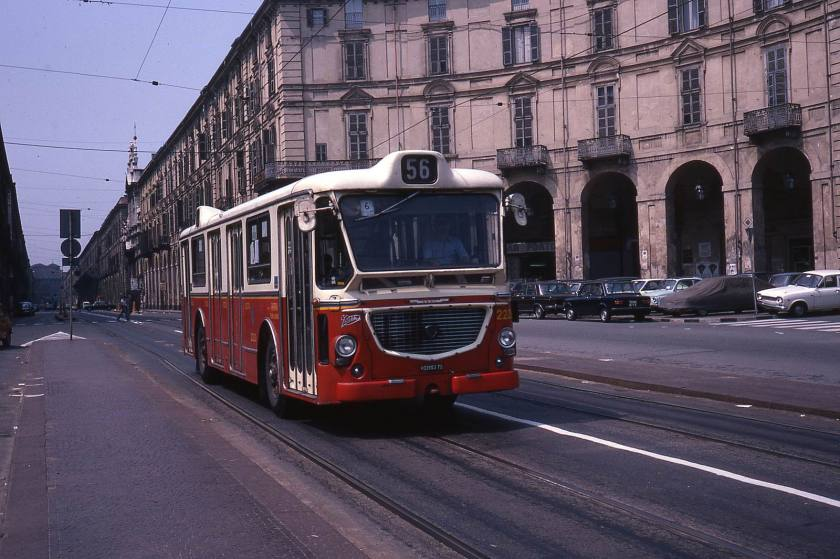 1978 Viberti JHM-1978-1321 - (I) Turin, autobus