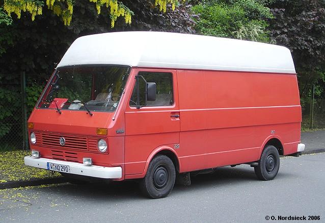 1978 VW LT 28 Kasten - Hochdach