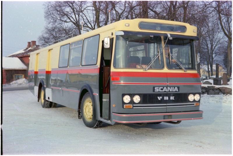 1979 Scania BF111-63 kombinertbuss  mod med M42-karosseri fra VBK