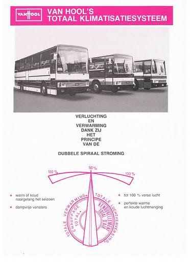 1979 VAN HOOL KLIMAAT SYSTEMEN