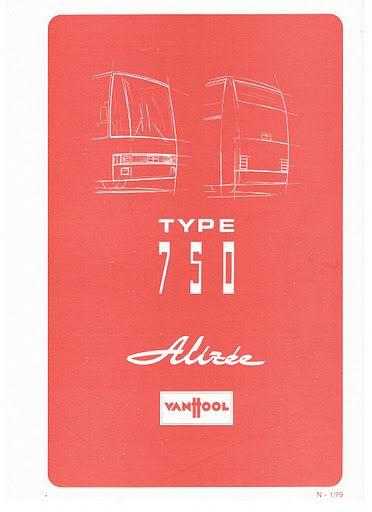 1979 VAN HOOL TYPE 750