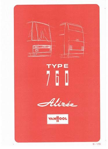 1979 VAN HOOL TYPE 760