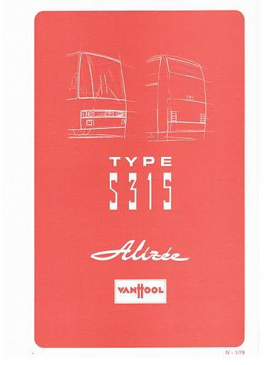 1979 VAN HOOL TYPE S315