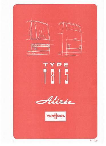 1979 VAN HOOL TYPE T815