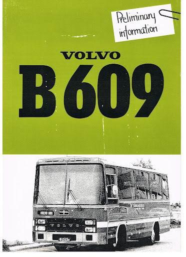 1979 VOLVO B609 (RSP 80279)