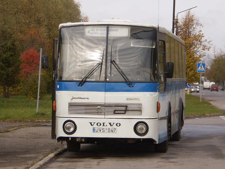 1980 Jonckheere TransCity Volvo Litouwen