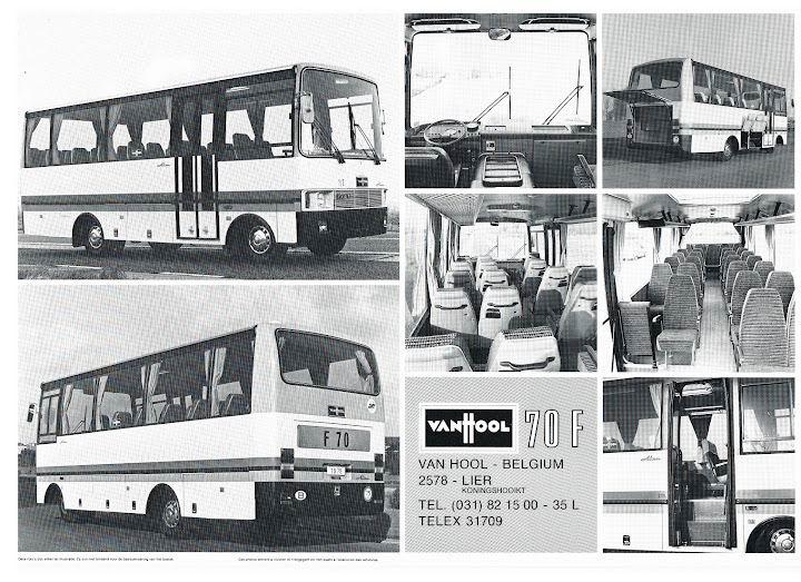 1980 VAN HOOL 70F