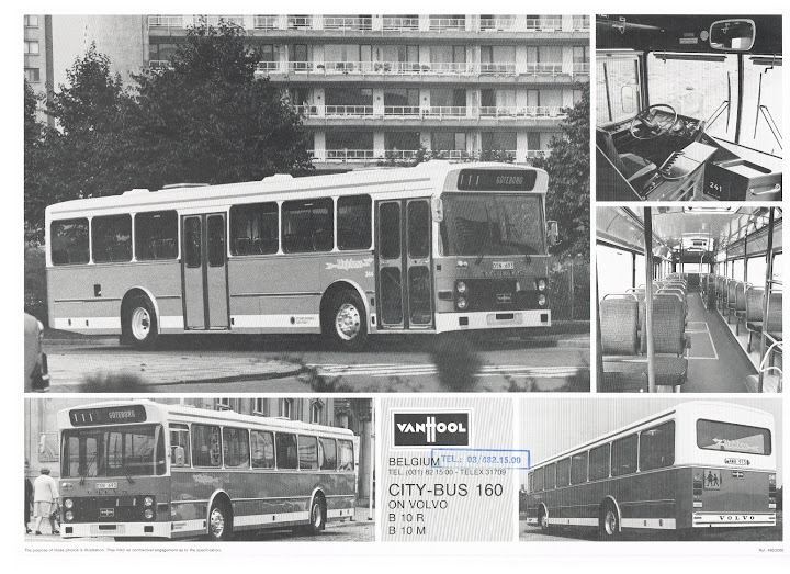 1980 VAN HOOL CITY-BUS 160