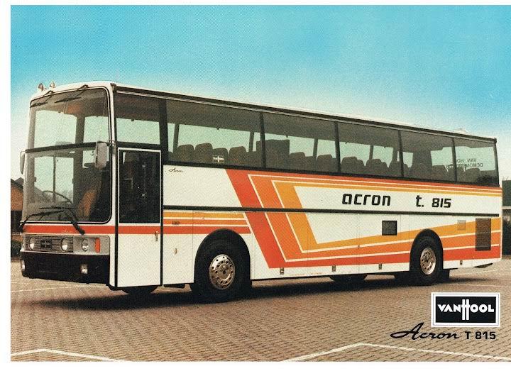 1980 VAN HOOL T815 ACRON (GB)