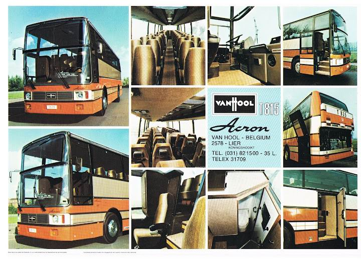 1980 VAN HOOL T815 ACRON MAN