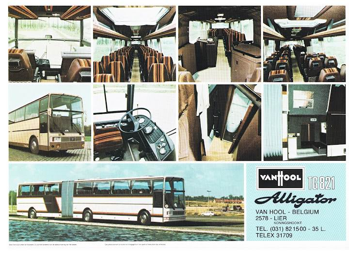 1980 VAN HOOL TG821 ALLIGATOR